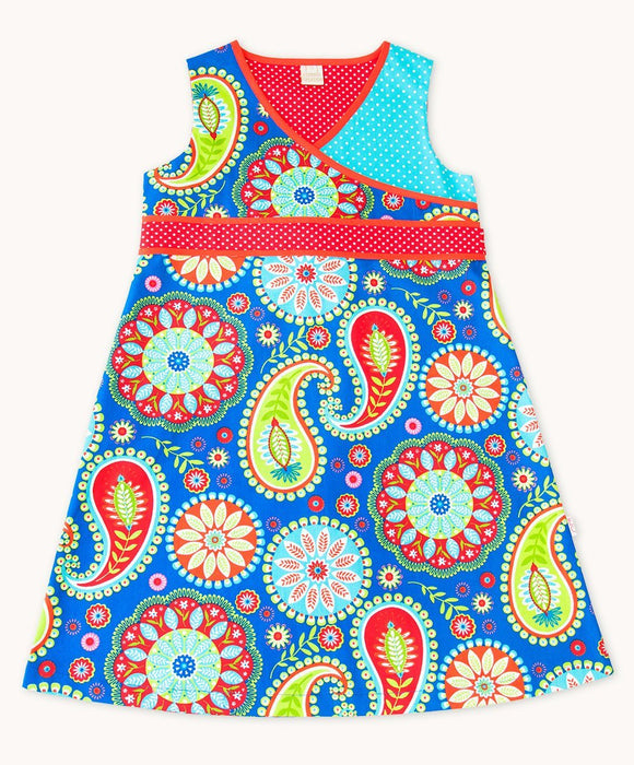 Gorgeous Blue Carnival Summer Dress - Visible.Clothing
