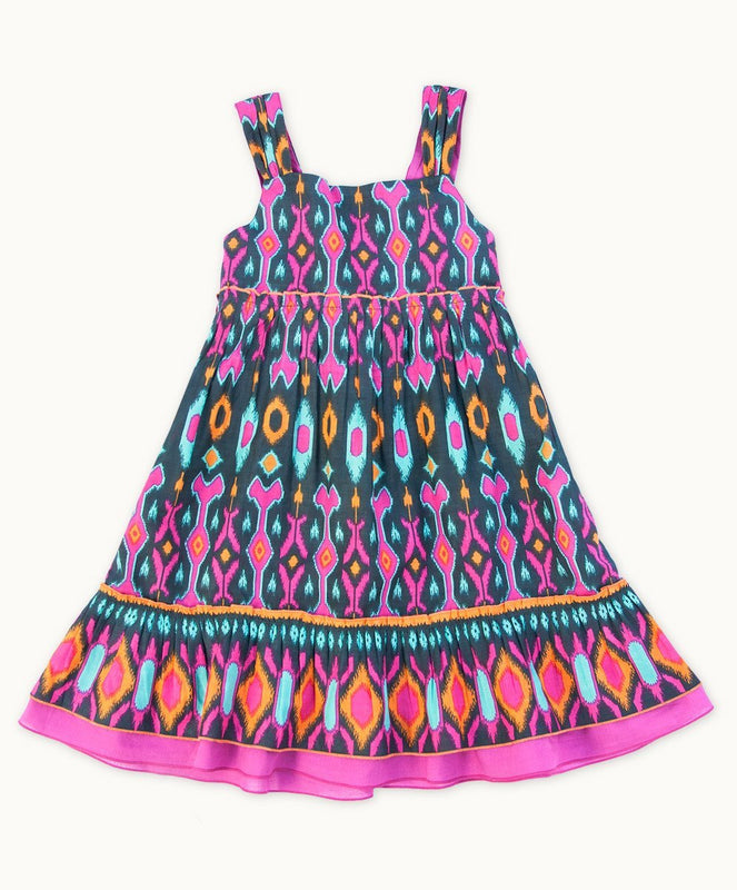 Spice Island Cotton Dress - Visible.Clothing