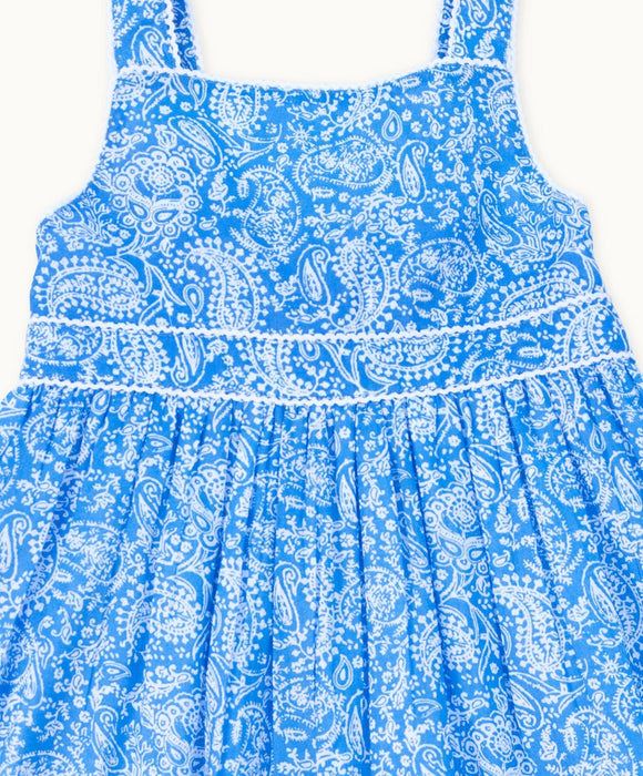 Perfect Periwinkle Paisley Sundress - Visible.Clothing