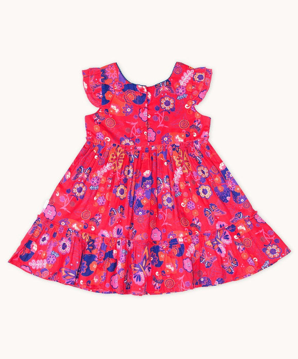 Olivia Gathered Party Dress - Visible.Clothing