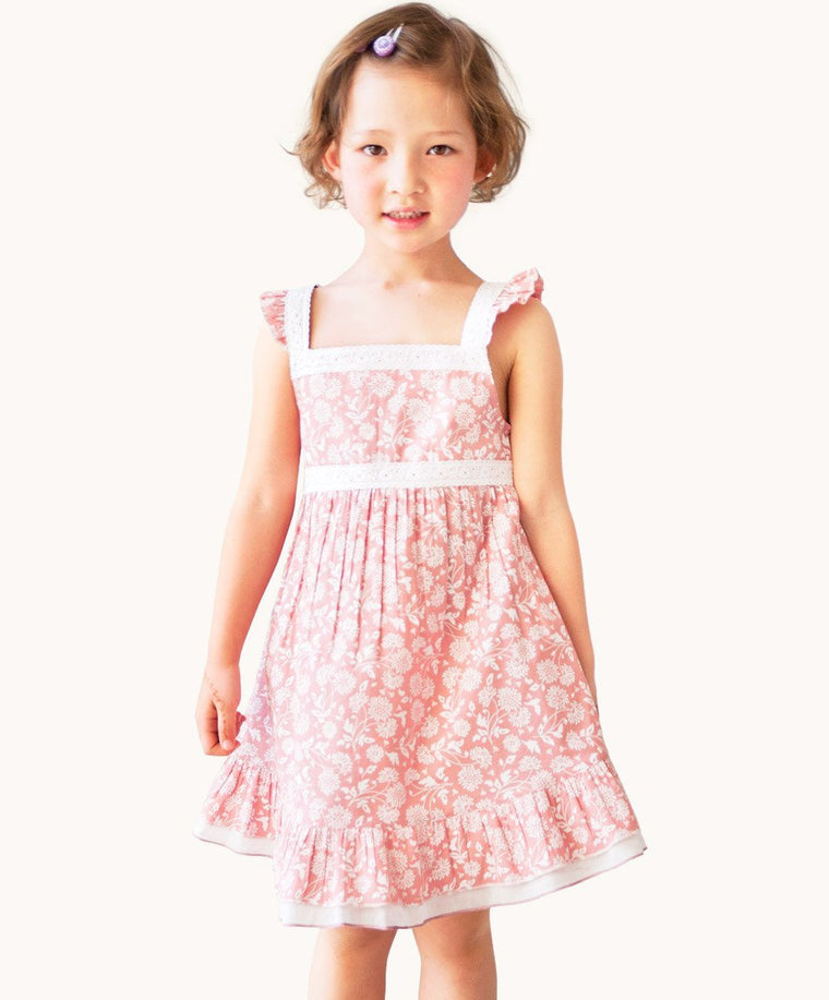 Pink Manon Lace Party Dress