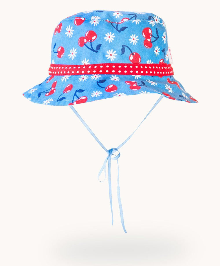 Cherries Cotton Sunhat