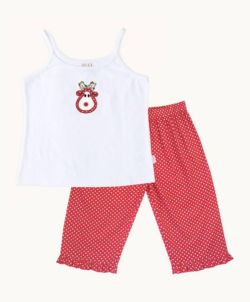 Personalized Reindeer PJ Set