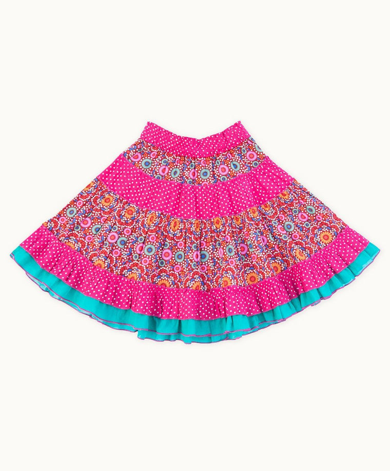 Colourful Diwali Dance Party Skirt
