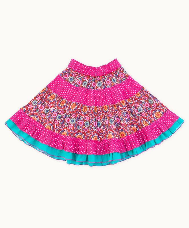 Colourful Diwali Dance Party Skirt - Visible.Clothing