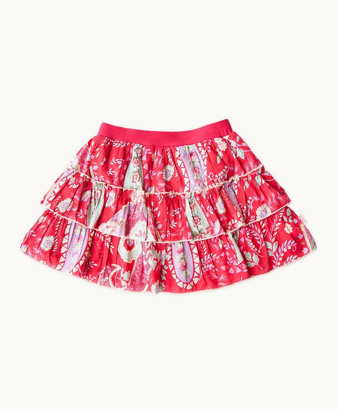 Bella Layered Ruffle Skirt - Visible.Clothing