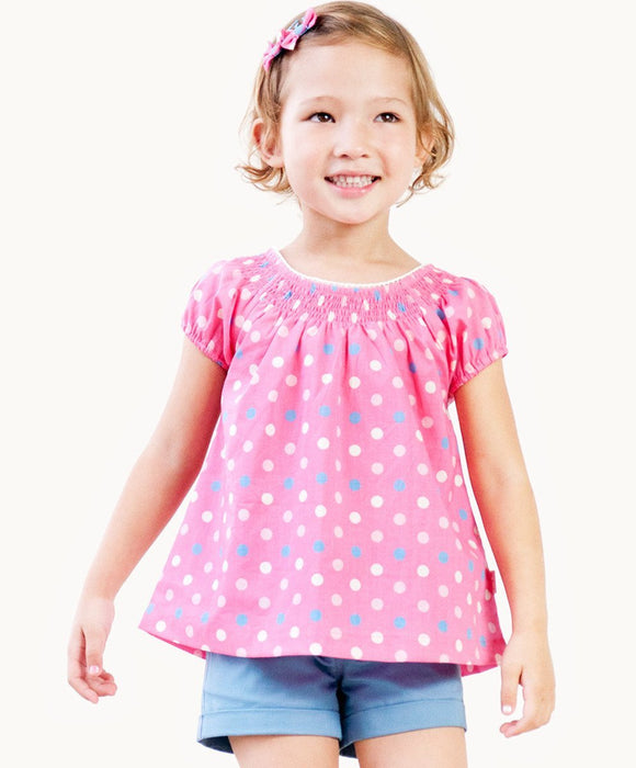 Sweet Bebe Lace Trim Top - Visible.Clothing