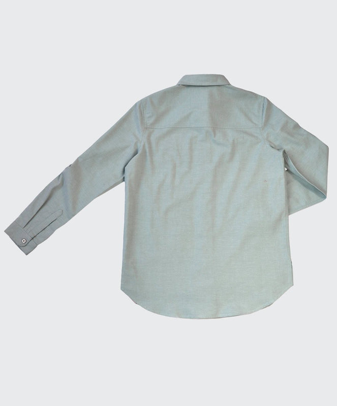 Jagdish Chambray Oversized Shirt