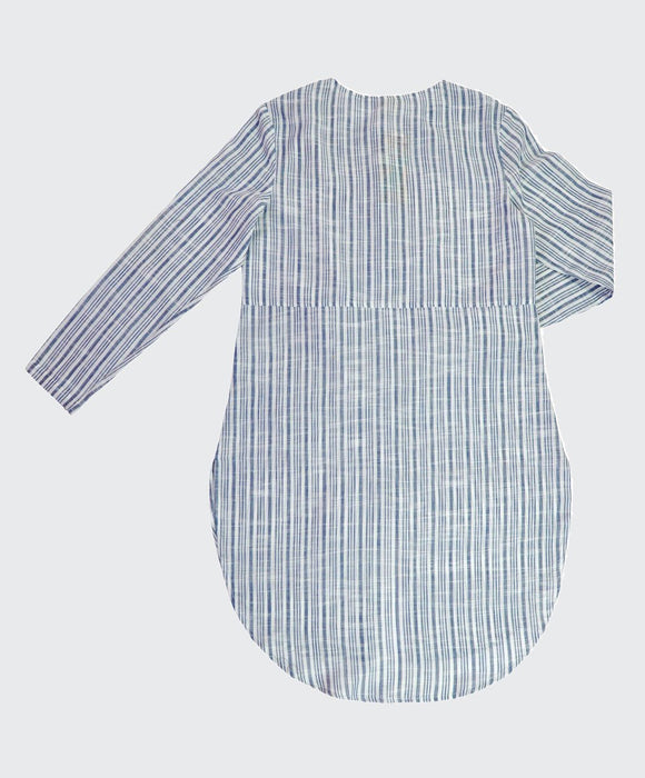 Varied Stripe Long Line Tunic