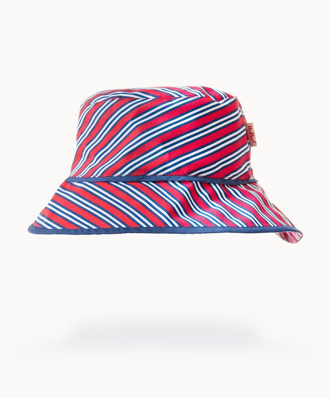Sami Striped Cotton Sunhat - Visible.Clothing