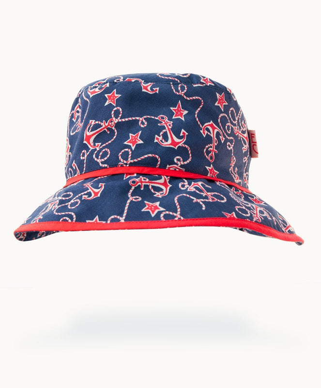 Ships Ahoy Cotton Sunhat - Visible.Clothing