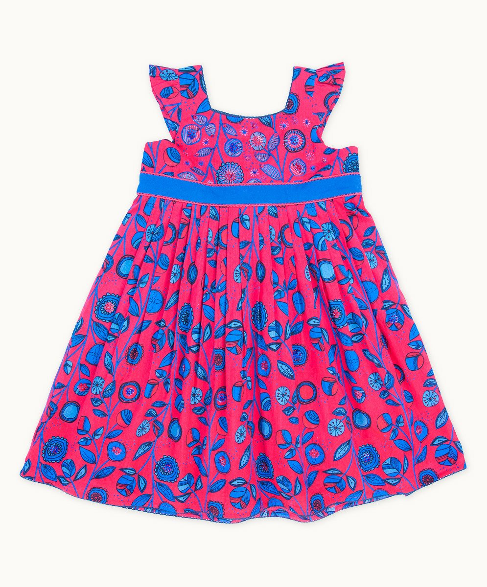 Ruby Blues Summer Dress - Visible.Clothing