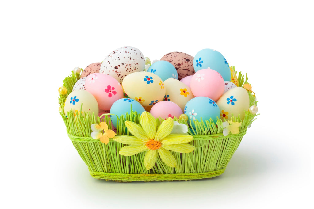What an easter gift basket all about threewhitedoves negle Image collections