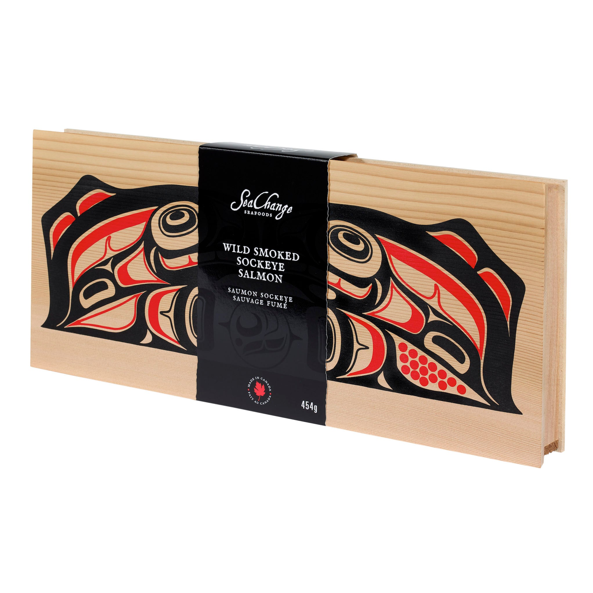 Smoked Sockeye Salmon in Cedar Box Gift of Canada