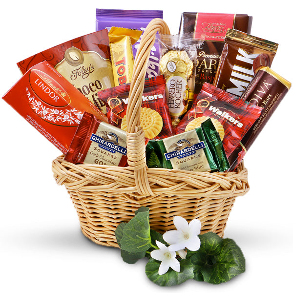 Assorted Chocolate Lover's Gift Basket