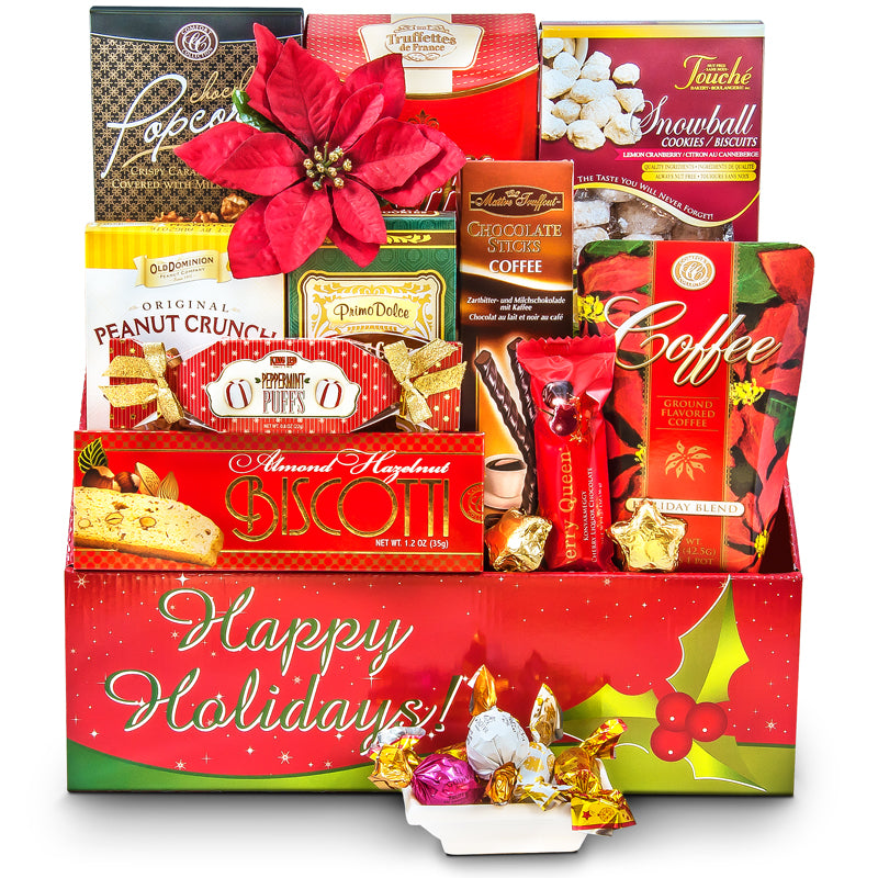 Holiday Celebration! - Christmas Gift Basket