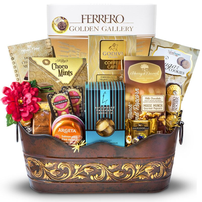 A Radiantly Elegant Gift - 48 Ferrero Rocher Chocolates