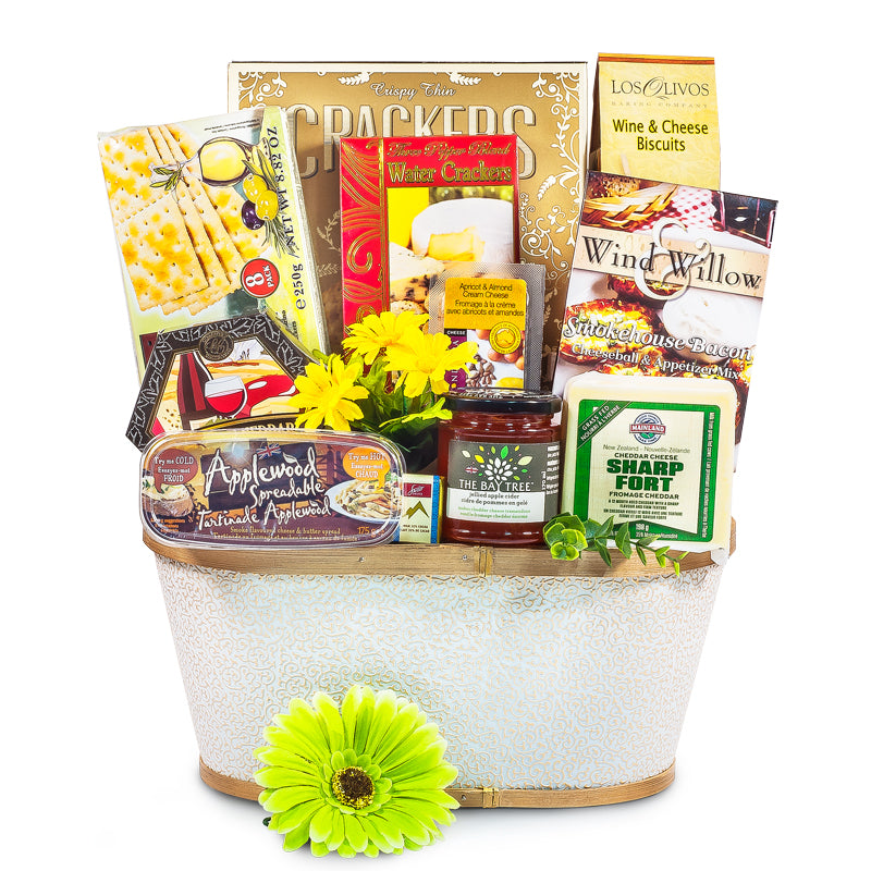 A Cut Above - Gourmet Cheese Basket Medium