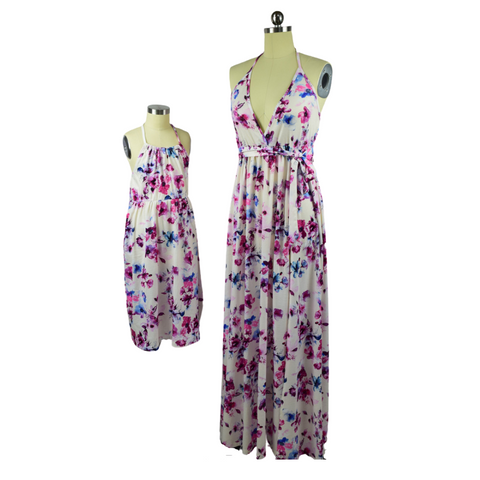 FLOWER BOMB MOTHER/DAUGHTER DRESS