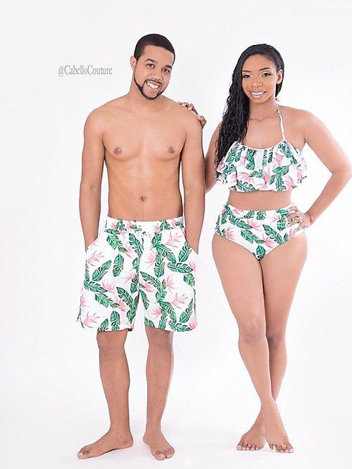 Tropical Rainforest Family Matching Swimsuits