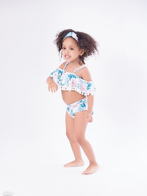 HAWAIIAN RETREAT MOTHER/DAUGHTER SWIMSUITS