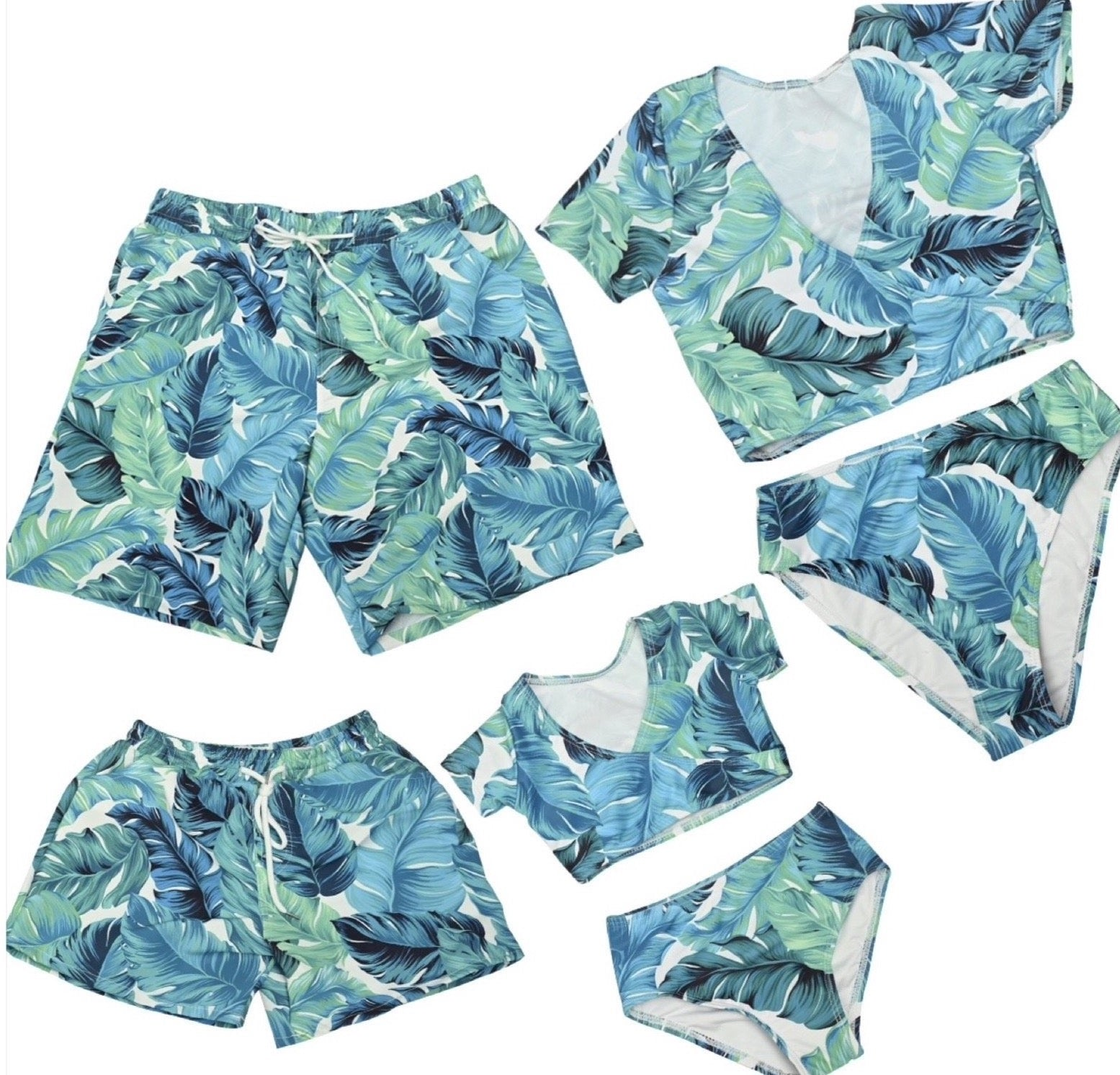 OCEANVIEW FAMILY MATCHING SWIMSUIT