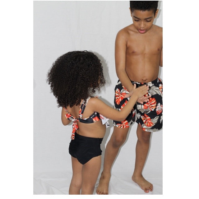 AUTUMN FAMILY MATCHING SWIMSUIT