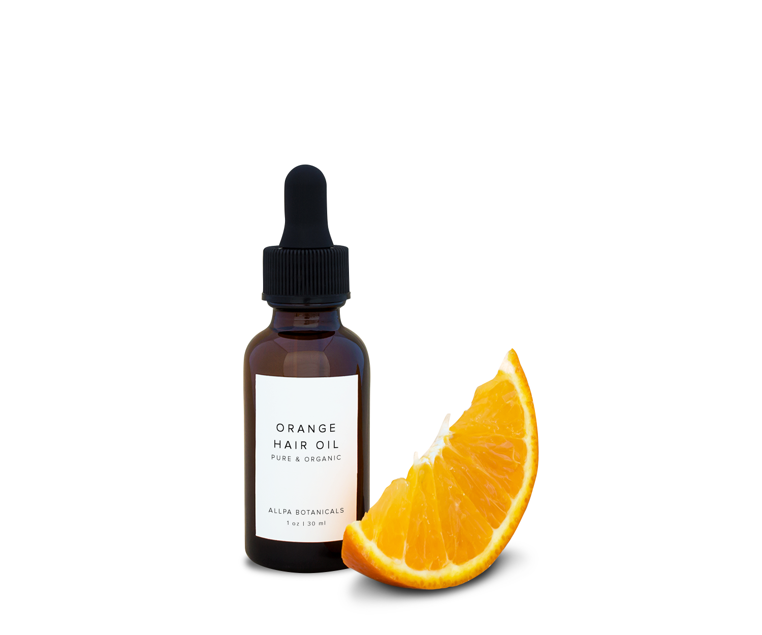 Orange Hair Oil