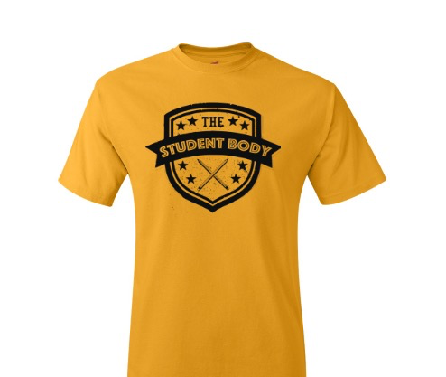 The Student Body TShirt Yellow