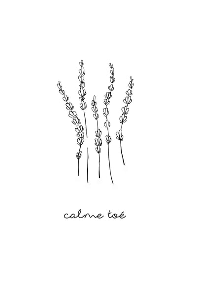 calme toé - illustration