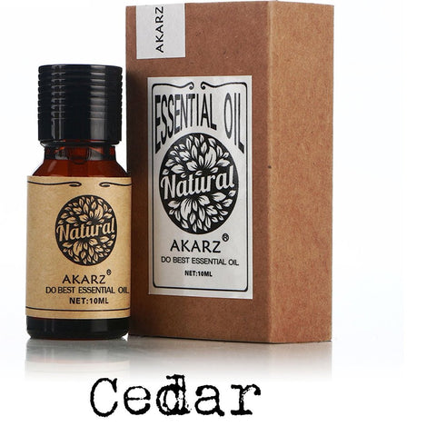 Natural Aromatherapy Cedar Oil for Skin Disinfection and Hair Protection