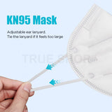 10 Pcs KN95 Grade Reusable Face Mask For Maximum Protection