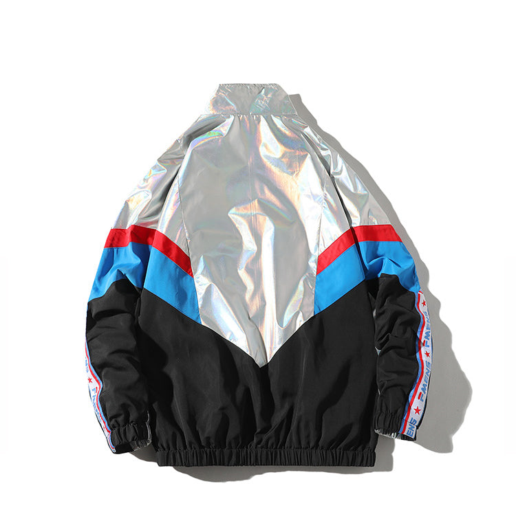 Reflective Harajuku Windbreaker Vintage Jacket