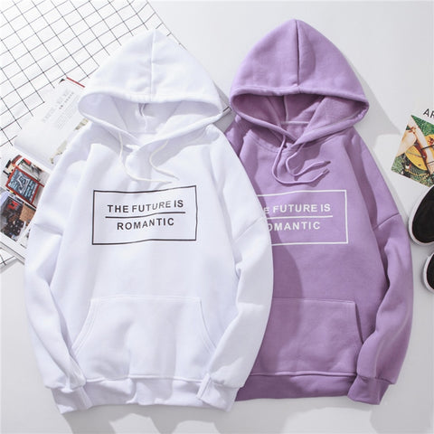 The Future is Romantic Hoodie
