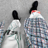 Flaming Fire Printed Streetwear Pant