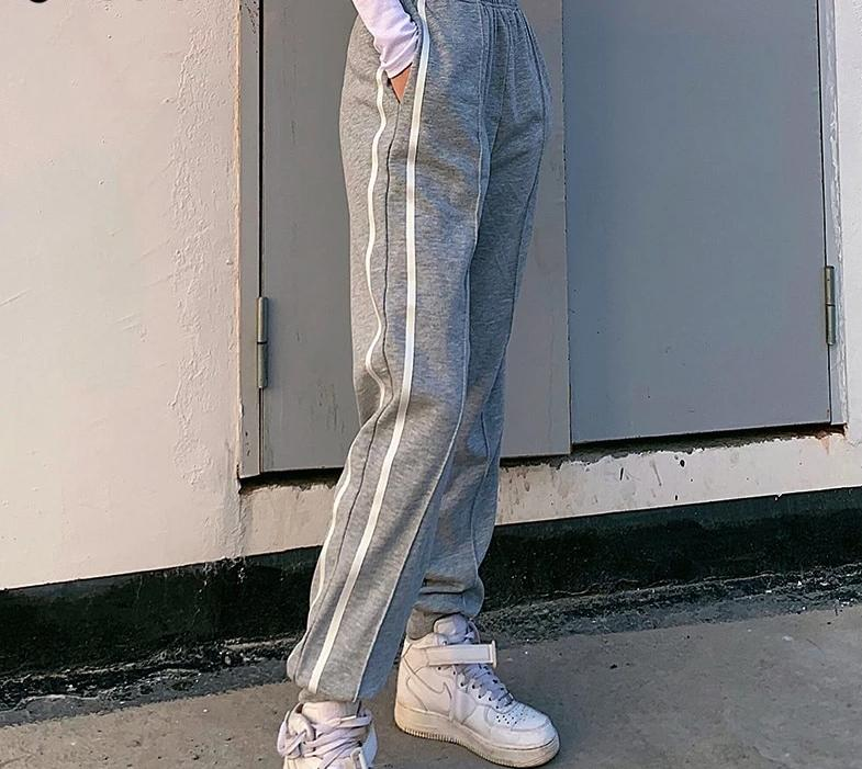 Side Striped Jogger Sweatpants