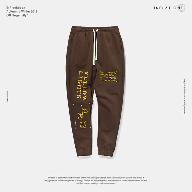Letter Printed sweatpants