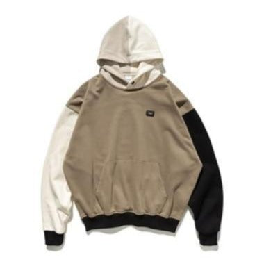 Contrast Color Fashion Hoodie