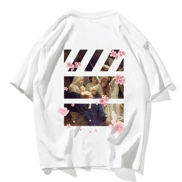 Cotton print Hip Hop Tee