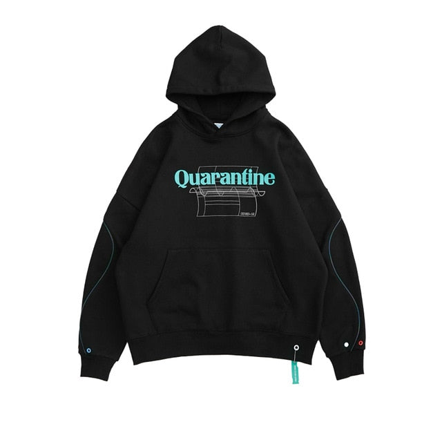 Quarantine Casual Fleece Warm Hoodie