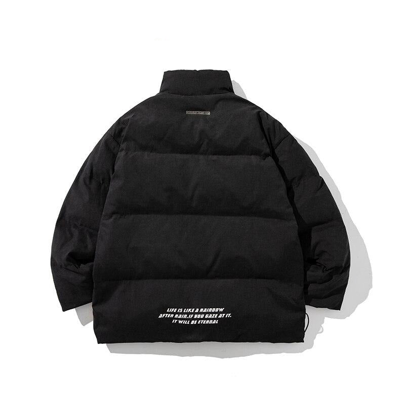 Black Bubble Warm Winter Jacket