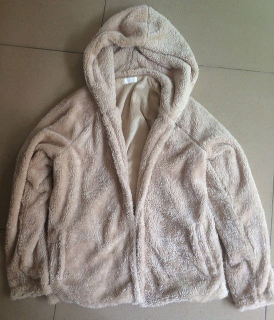 Thick Winter Sherpa Hoodies