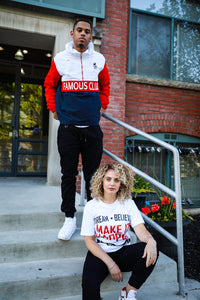 Dream Believe Tee White - Famous Club Clothing