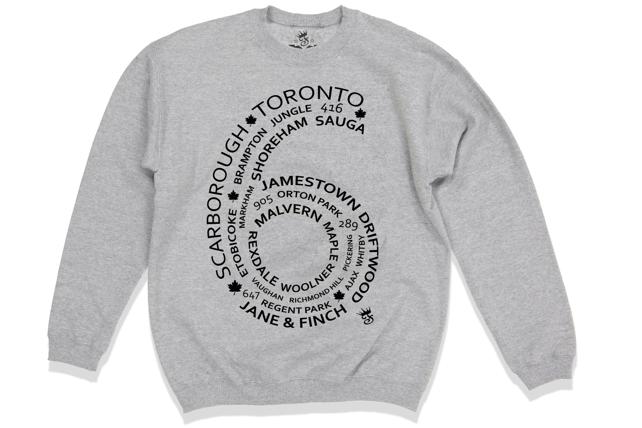 Toronto Streetwear Multi City Design 6 Side - Famous Club Clothing