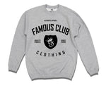 Classic Shield Crewneck Grey