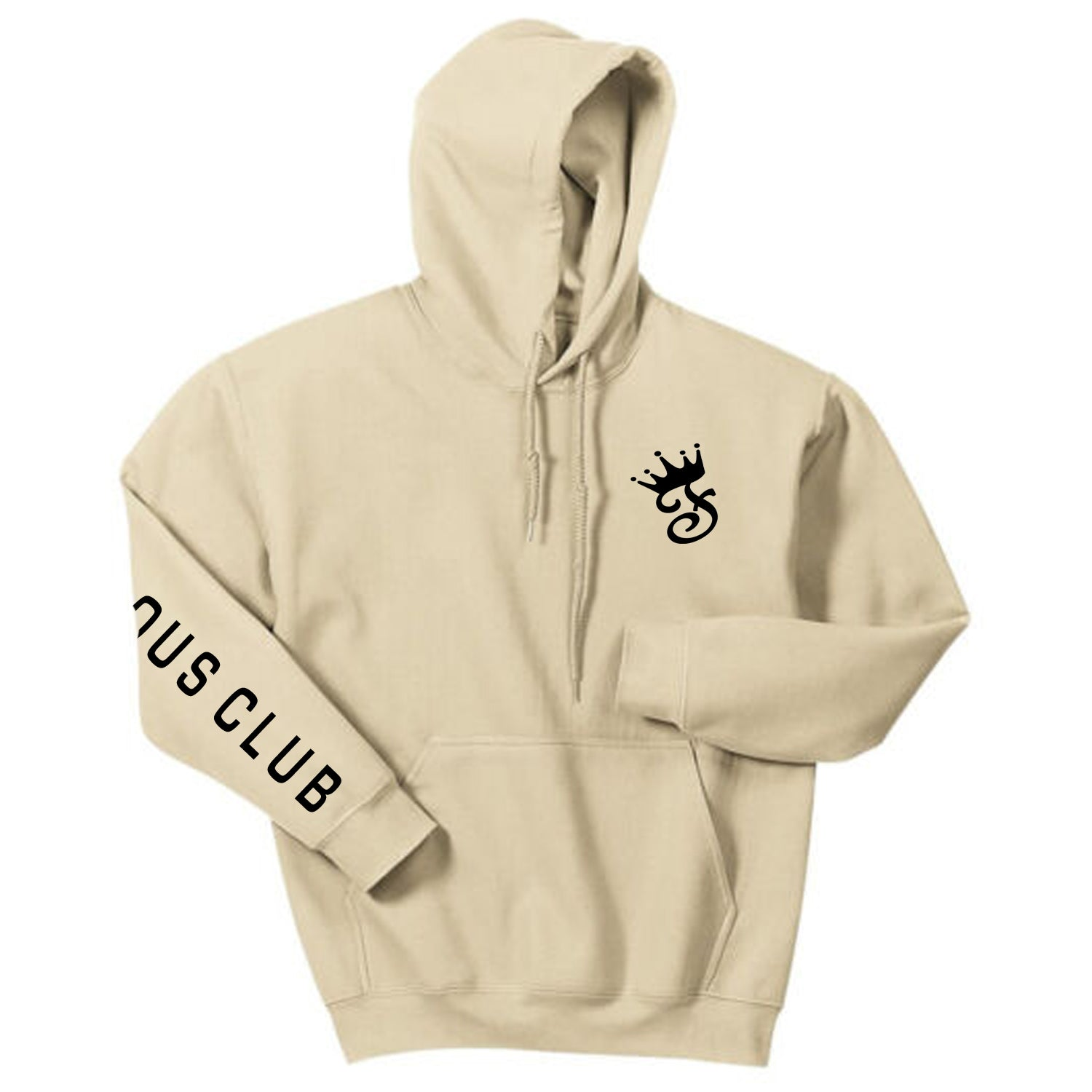 Tan Fame Hoodie - Famous Club Clothing