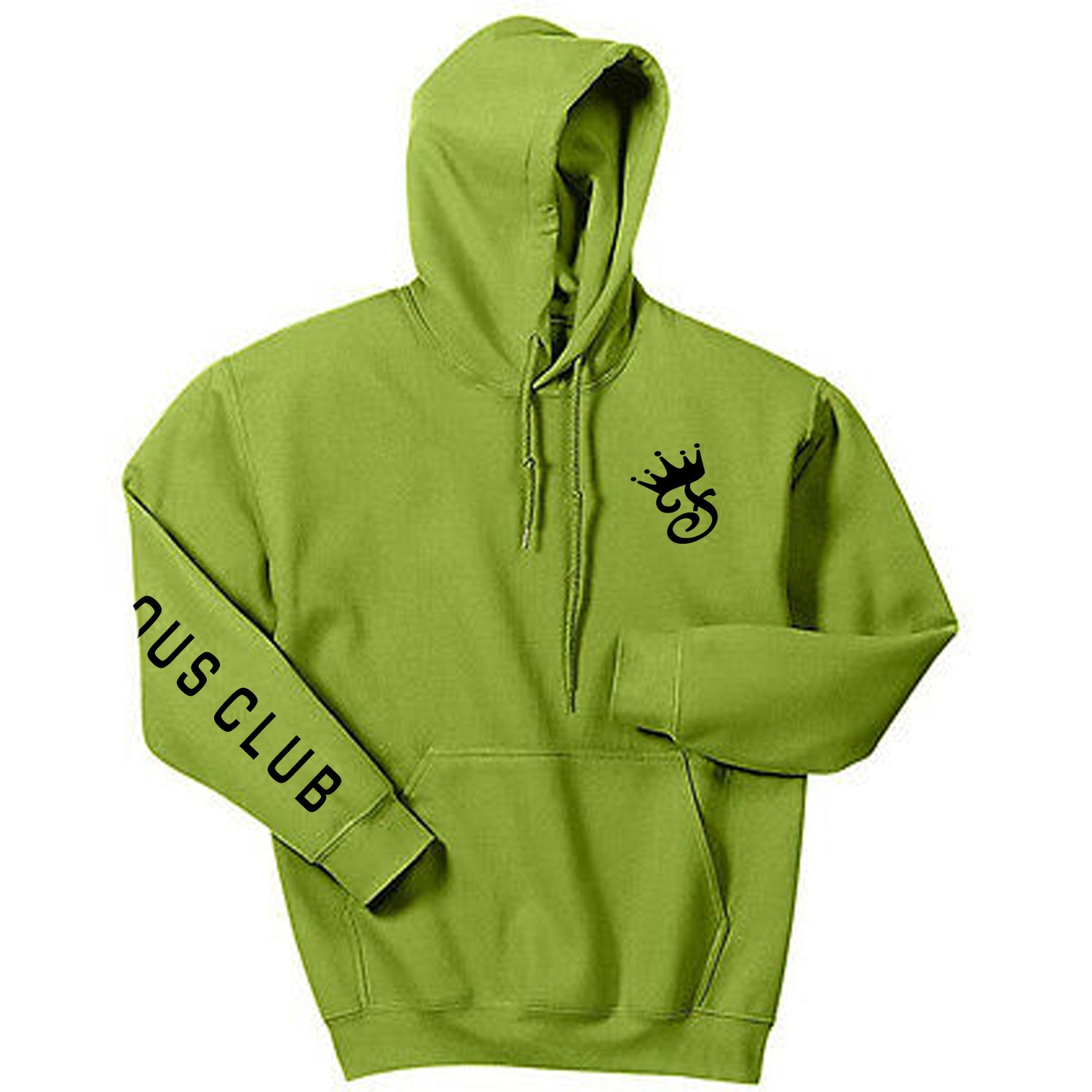 Olive Fame Hoodie - Famous Club Clothing