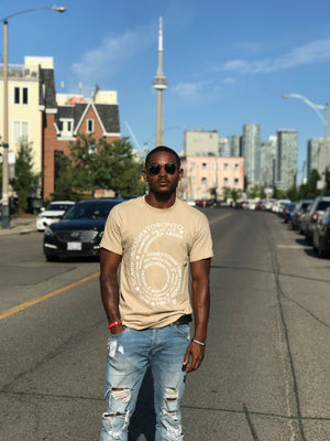 Toronto  6 Side T shirt Black streetwear - Famous Club Clothing