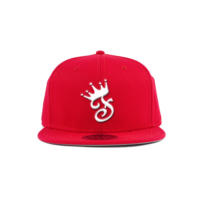 Crown 3D Embroidered Snapback - Famous Club Clothing