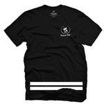 Energy Wave Tee Black - Famous Club Clothing